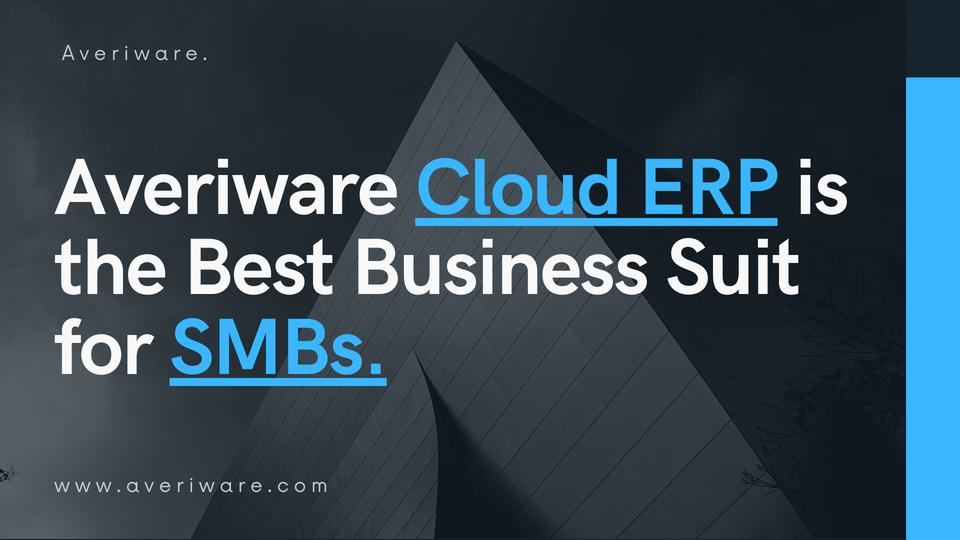 cloud erp software